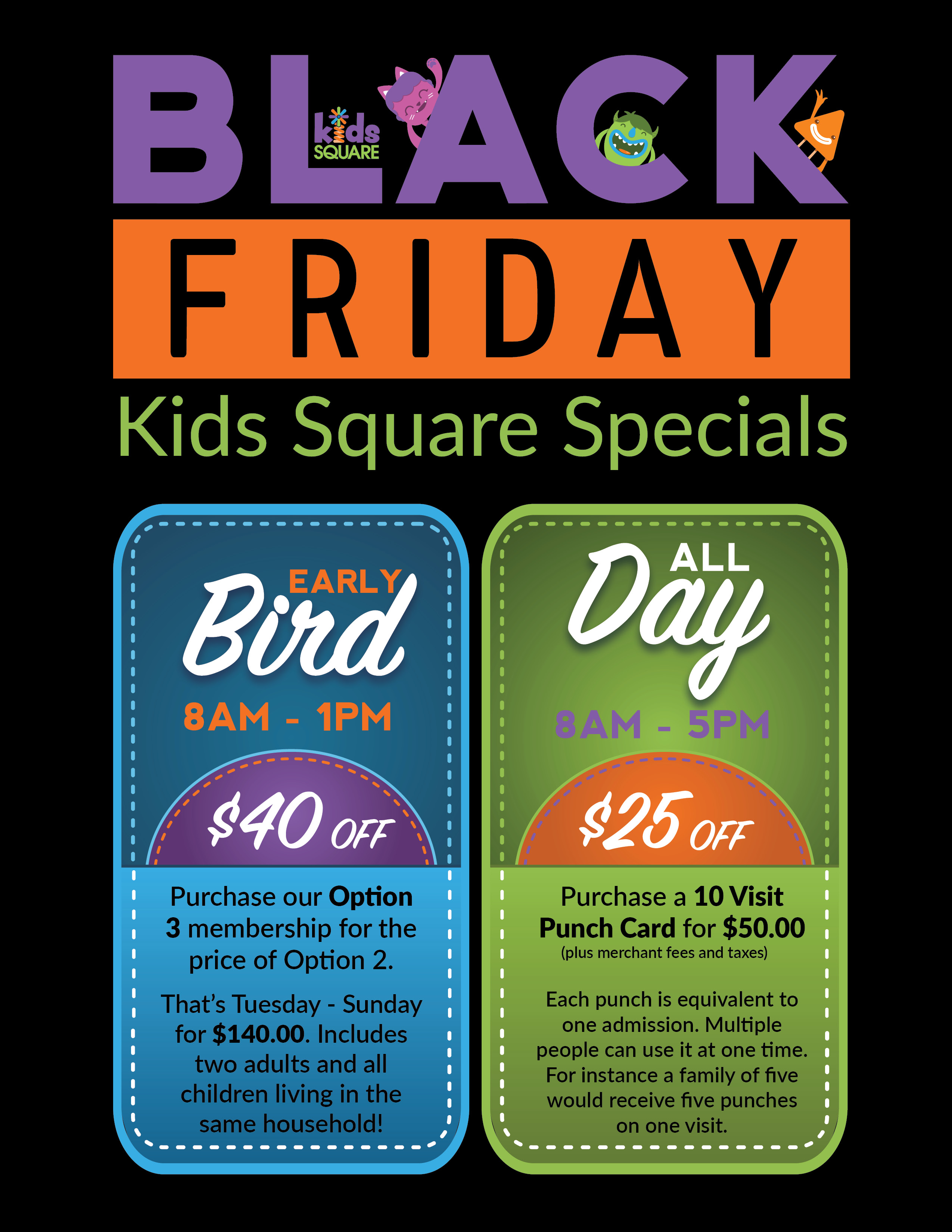 Black Friday Kids Square